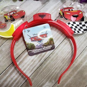 Disney Parks Mickey Ears Lightning McQueen Ears